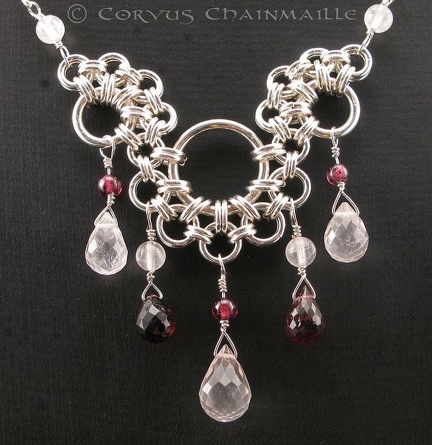 Athena's Tears by Redcrow at Corvus Chainmaille, via Flickr