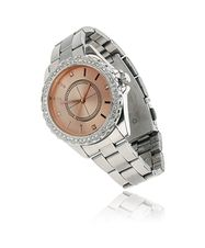 Gina Tricot - Pink face watch Crystal