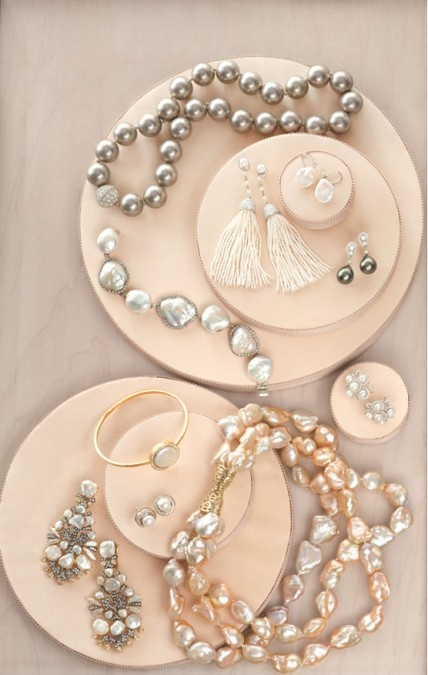 These aren't your grandmother's pearls. Are you thinking of wearing pearls on your big day?