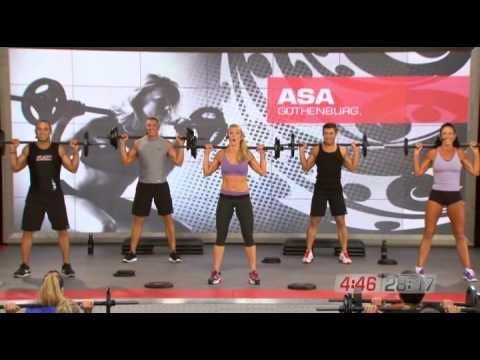Les Mills PUMP D2 01 Pump and Burn - YouTube