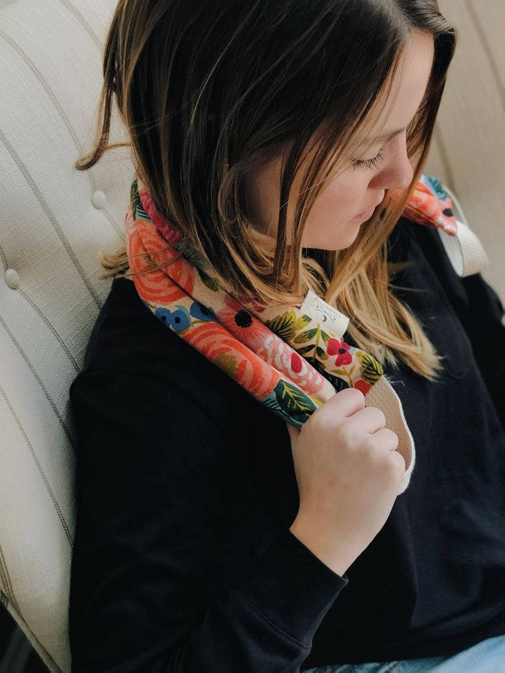 Slow North Neck Wraps are the perfect work companion! in