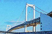 "New artwork for sale! - "" Rainbow Bridge In Tokyo by PixBreak Art "" - http://ift.tt/2iqRaOa"