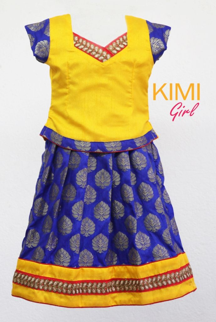 #kids #choli #pattu #pavadai #girls #silk #traditional #designer #creative #indian #lehenga #kidswear #skirt #trendy #children #clothes #new #stylish #kimi #dress #partywear #apparel #fashion #readymade #girl