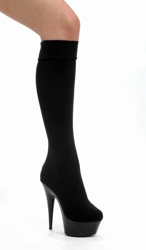 """6"""" Pointed Stiletto Heel * 609-LYCRA by Ellie Shoes, $83.99 - Sexy Shoes, High Heels, Stripper Shoes, Platforms, and Thigh High Boots for Women"""