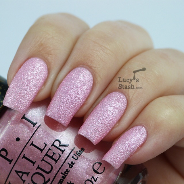 OPI Bond Girls Liquid Sand Collection in Pussy Galore