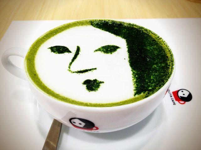 6. matcha latte #TsunaguJapan