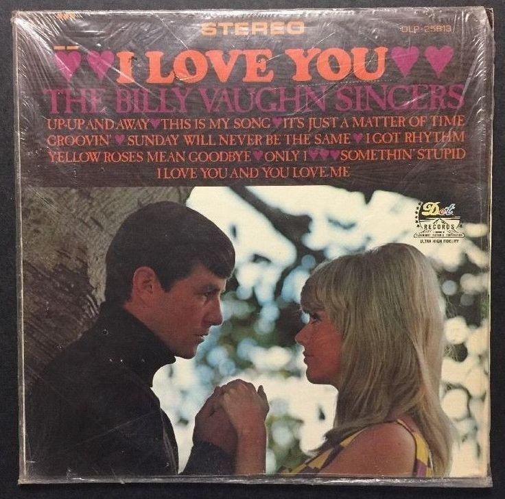 The Billy Vaughn Singers - I Love You VINYL LP