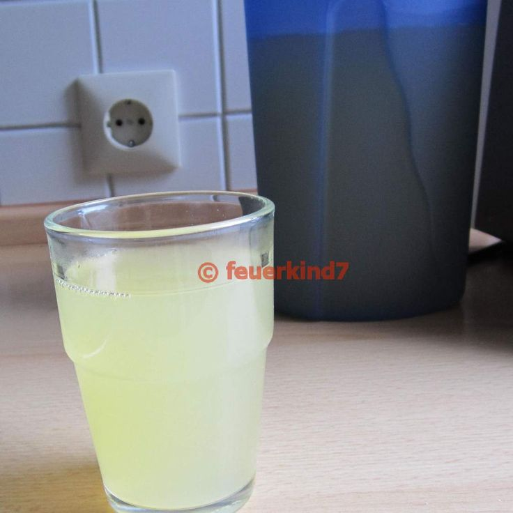 Elektrolyte-Trunk nach Durchfallerkrankung