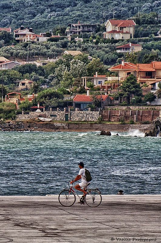 This is my Greece   Cycling in Agiokampos village, in the Larissa regional unit www.house2book.com