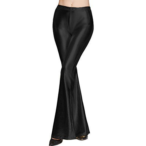 New Trending Pants: Destinas Womens High Waist Shiny Long Pants Flare Bell Bottom Trousers Black. Destinas Women's High Waist Shiny Long Pants Flare Bell Bottom Trousers Black   Special Offer: $13.99      377 Reviews Destinas Women's High Waist Shiny Long Pants Flare Bell Bottom Trousers Definitely it will Bring You a Different Look and Modern Style Specification: Material:...
