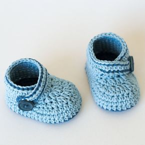 Free pattern baby booties …