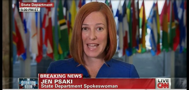 Watch State Dept's Jen Psaki Tell Wolf Blitzer That Israel is Running a 'Misinformation Campaign' by SANCHO PANZA on JULY 28, 2014