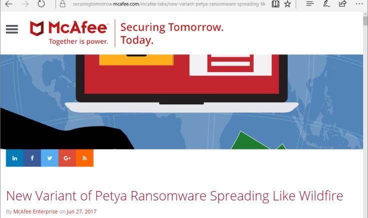 Evolution von Ransomware: Wenn eine ungepatchte Maschine Tausende infizieren kann