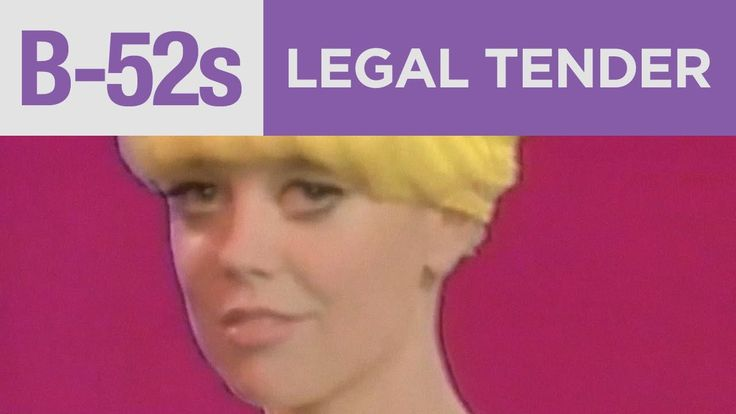 "Great guitar by Ricky. The B-52's - ""Legal Tender"" (Official Music Video)"