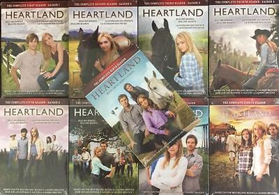 cds dvds vhs: Heartland Seasons 1-9 The Complete Series Dvd Set Season 1 2 3 4 5 6 7 8 9 New -> BUY IT NOW ONLY: $76.95 on eBay!