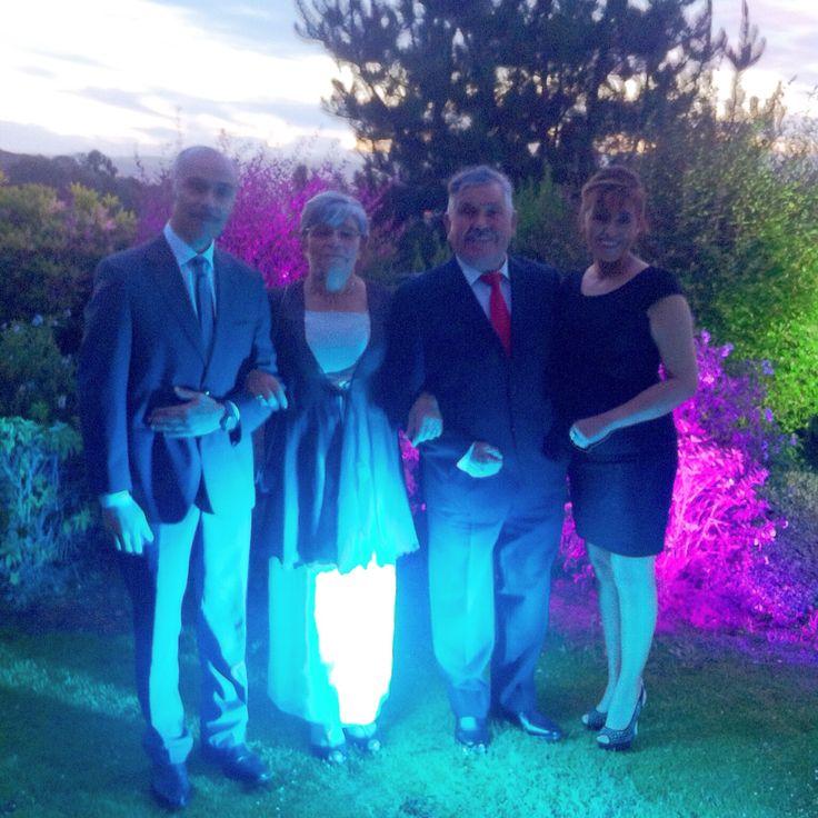 Papa, mama, hermana y yo, matrimonio pito y naty