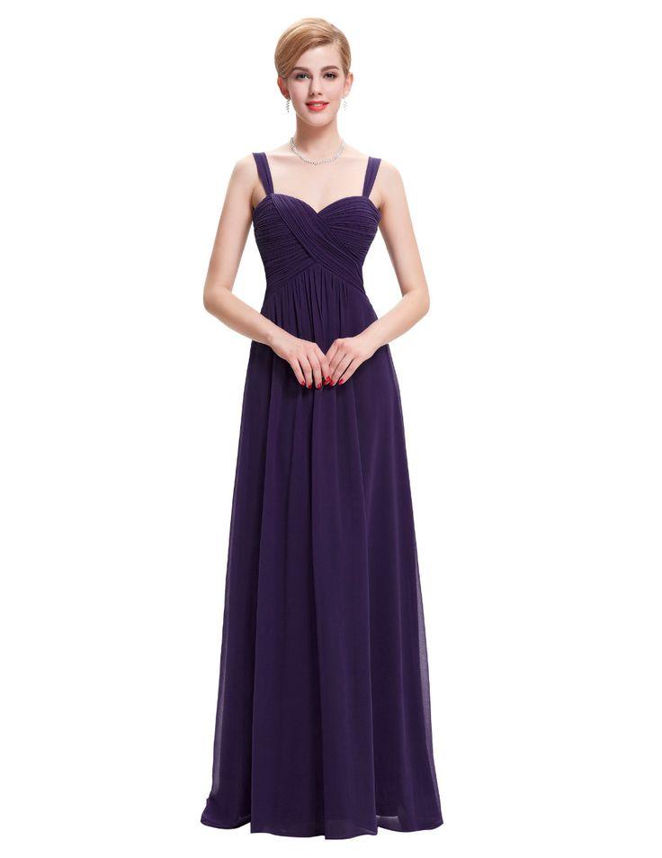 긴 쉬폰 들러리 드레스 보라색 녹색 화이트 블랙 블루 Bruidsmeisjes Jurken 신부 댄스 파티 드레스 신부 들러리 드레스 0065