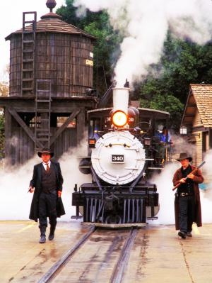 Knott's Berry Farm...100 year old steam engine...not many left running