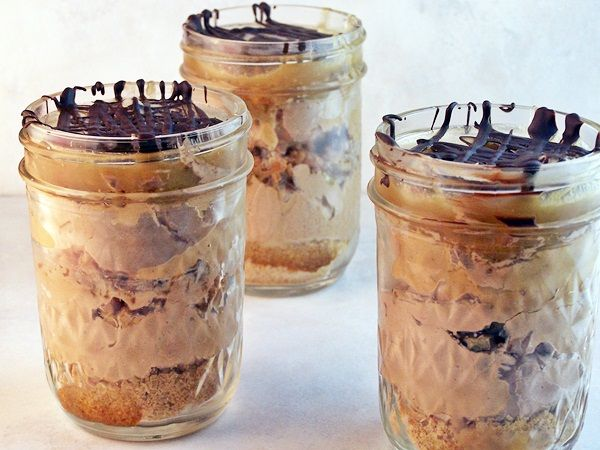 Cake In A Jar Recipe No Bake: 284 Best Images About Desserts In Jars On Pinterest