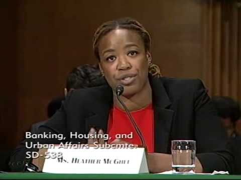 In her testimony to the Senate Banking Committee, Demos President Heather McGhee describes what we can do to cut the red tape preventing 1 in 4 eligible vote...