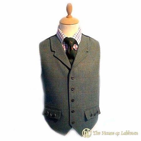 lovat tweed argyle kilt waistcoat for sale.jpg. The House of Labhran