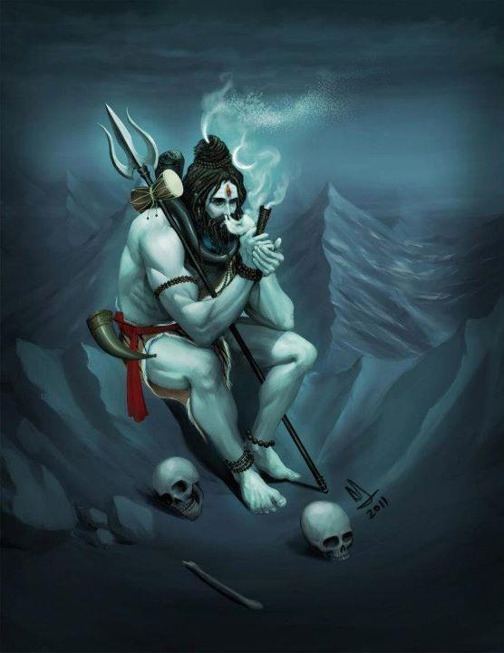 Lord Shiva Smoking | Nishu03 | Flickr