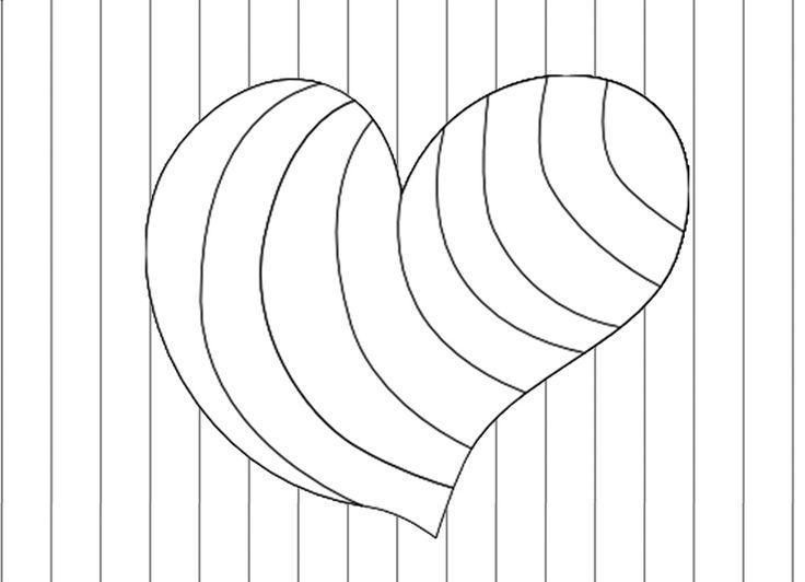 Valentijn hart in regenboogkleuren