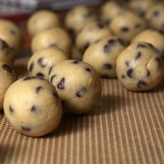 Cannabis Chocolate Chip Cookie Dough Truffles