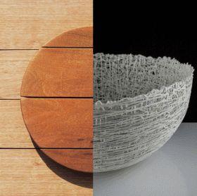 Cabinet (left) photographer: Lachlan Taylor; Ceramic Piece (right) photographer: Osborne Images.