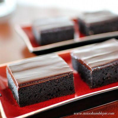 Not So Humble Pie: Chocolate Mascarpone Brownies
