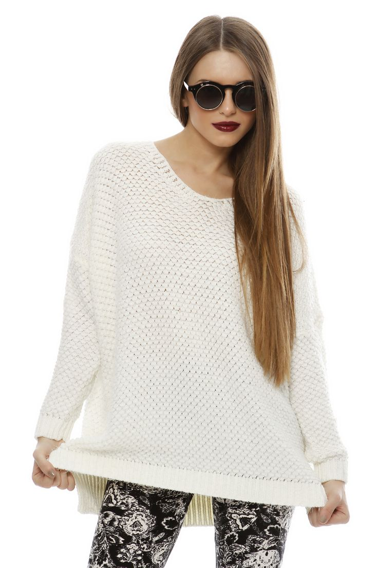 Fluffy Oversize Sweater