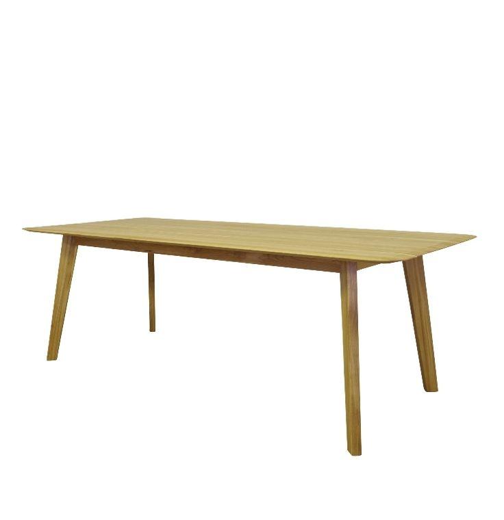 designtafel Samt massief hout ranke afwerking