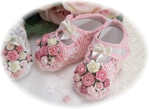 Victorian Romance Lace Baby Shoes500 x 367 | 48.3KB | www.victoriarosecottage.com