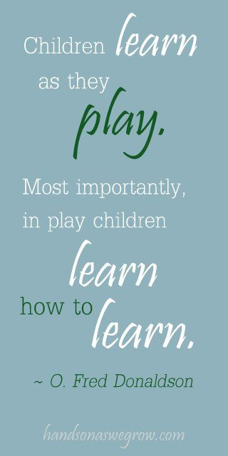 What is play to you?