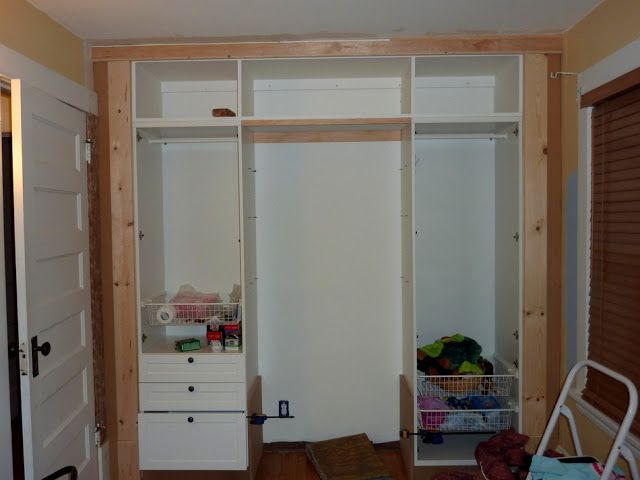 Kid's Built-In Wardrobe Closet - IKEA Hackers - IKEA Hackers