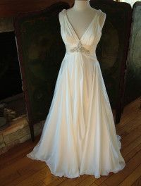OMG I love this dress!!! If I did vowel renewal I would rock this dress!!!