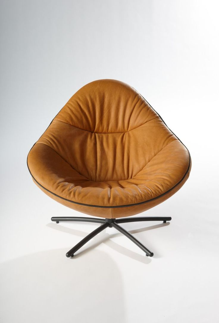 Label | Hidde soft #Leather #Chair #Design #Kokwooncenter