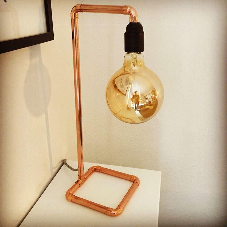 #DIY #copperlamp #steentidmand