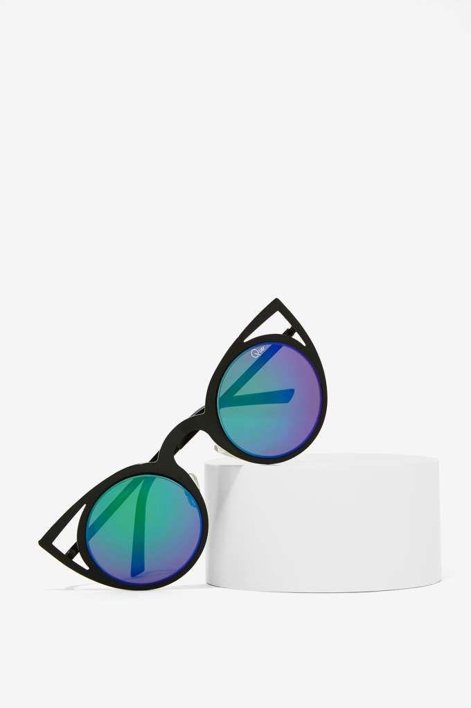 Quay Invader Shades - Purple - Accessories   Eyewear
