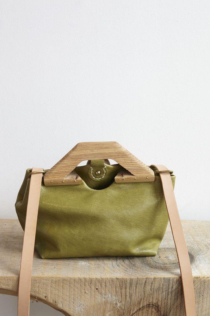 Eatable of Many Orders Tin Bag Plus in Green   Oroboro Store   Brooklyn, New York