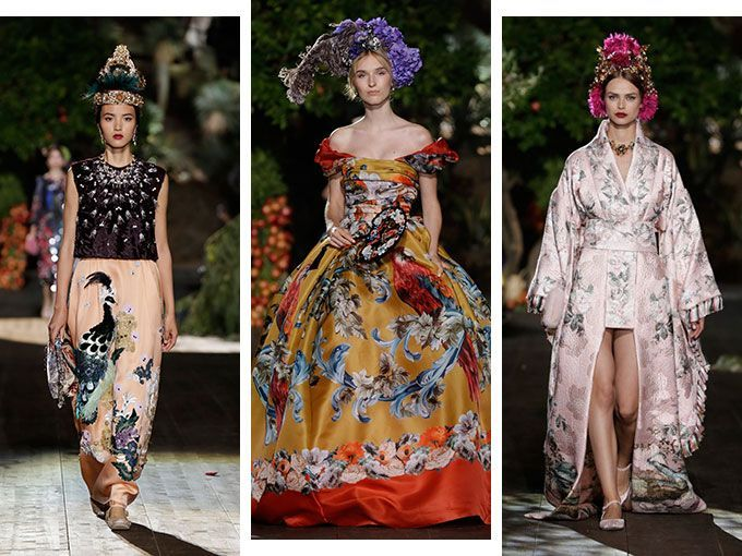 Using the most luxurious and exquisite materials in the world, Domenico Dolce and Stefano Gabbana presented their interpretation of A Midsummer Night's Dream, in its útlima Alta Moda collection.