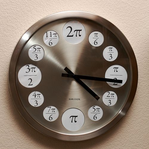 The Pi Clock! (there is always time for pi...)