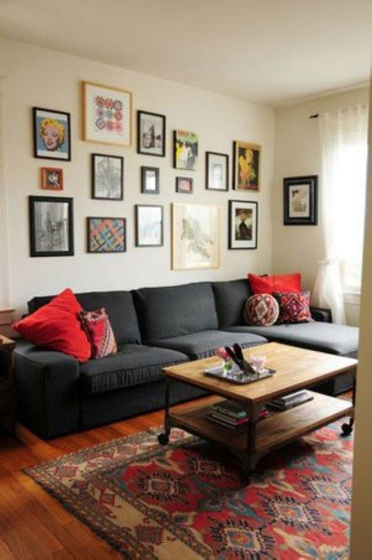 26 Bohemian Living Room Ideas: Romantic Bohemian Style Living Room Design Ideas 26