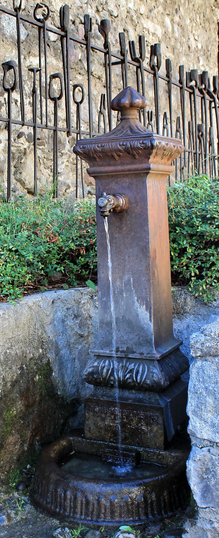 646 Best Images About Fountains Amp Wells On Pinterest