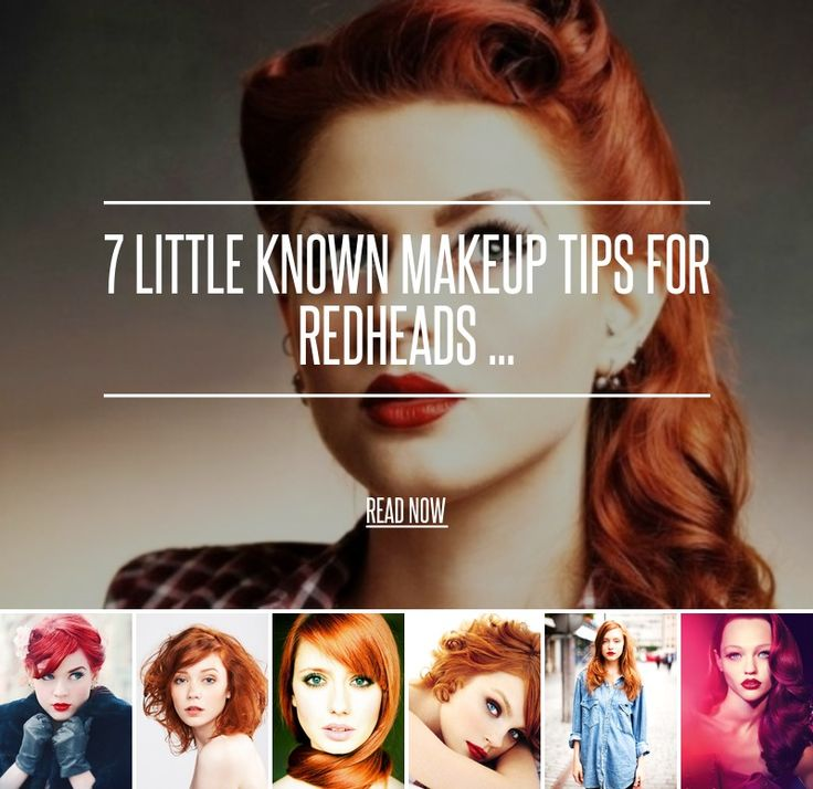 7. Plum Shadows - 7 Little Known Makeup Tips for Redheads ... → Makeup