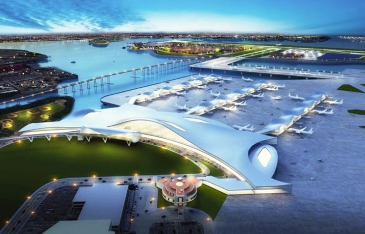 This rendering shows what LaGaurdia Airport could look like if nearby Rikers Island was incorporated into its footprint. (Photo: Independent Commission on New York City Criminal Justice and Incarceration Reform)    Rikers Island could become a key cog for New York's LaGuardia Airport. At... http://usa.swengen.com/laguardia-could-grow-by-taking-over-rikers-island/
