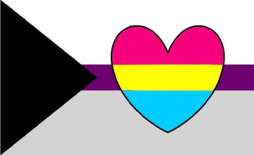 Panromantic Demisexual flag
