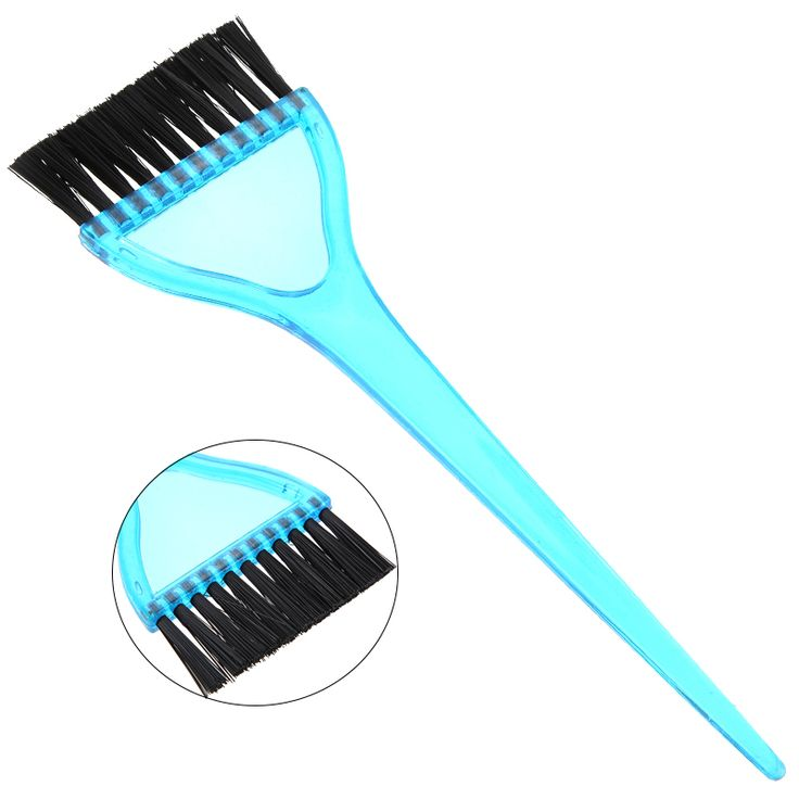 1Pcs Salon Dyeing Tool Plastic Dye Coloring Comb Salon Hair Brush Bleach Tint Perm Application Styling Tools Hairdressing Combs
