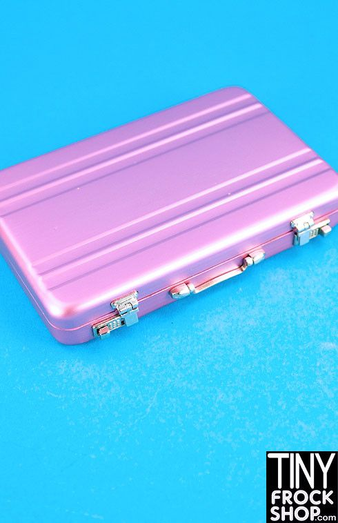 Barbie 007 Metal Briefcase w/ Working Latches