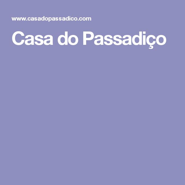 Casa do Passadiço